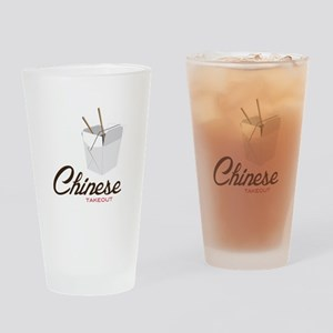 Chinese Takeout Drinking Glass