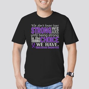 Sarcoidosis How Strong Men's Fitted T-Shirt (dark)