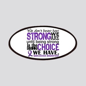 Sarcoidosis How Strong We Are Patches