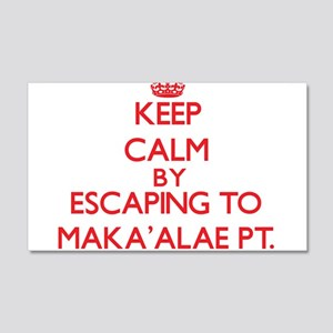 Keep calm by escaping to MakaAlae Pt. Hawaii Wall