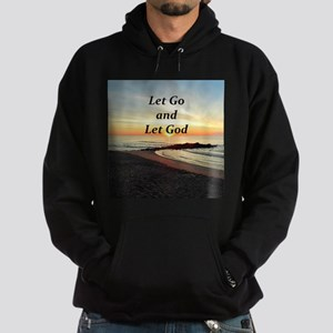 LET GO AND LET GOD Hoodie (dark)