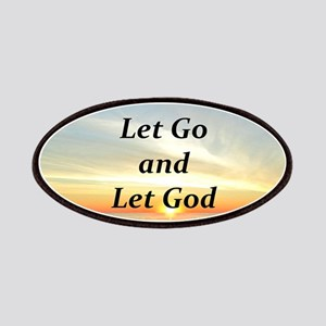 LET GO AND LET GOD Patches