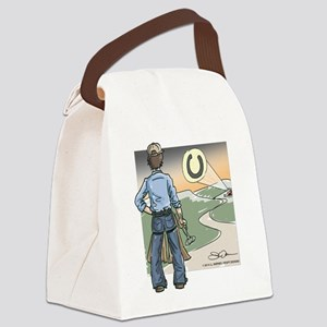 Aproned Crusader Canvas Lunch Bag