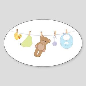 Baby Laundry Sticker