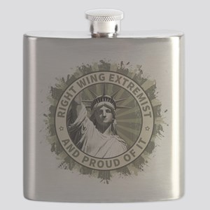 Right Wing Extremist Flask