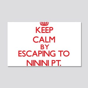 Keep calm by escaping to Ninini Pt. Hawaii Wall De
