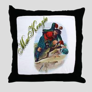 Clan MacKenzie Throw Pillow