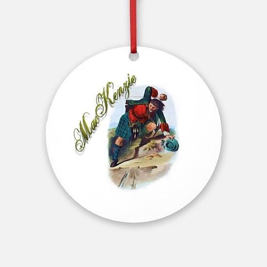 Clan MacKenzie Round Ornament