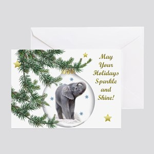 Hello Christmas Greeting Cards