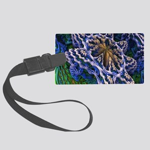 3D FLOWER Large Luggage Tag