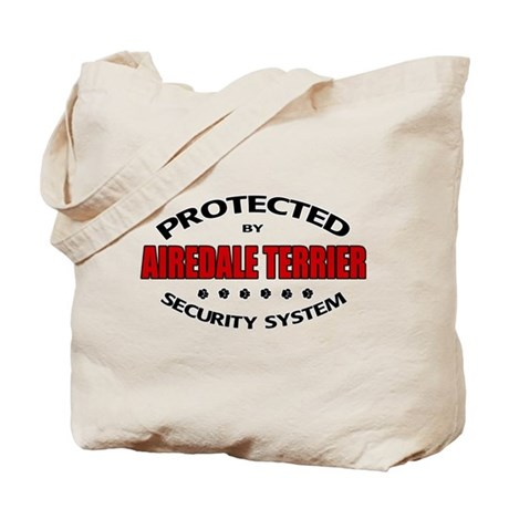 Airedale Terrier Security Tote Bag