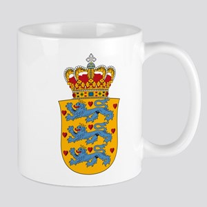 Denmark w/ Coat of Arms Mug