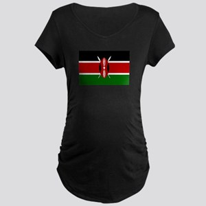 Kenya Maternity Dark T-Shirt