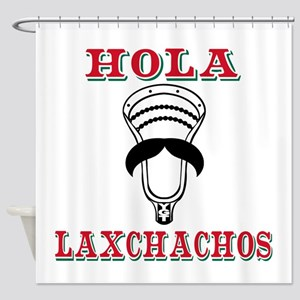 Lacrosse HOLA Laxchachos Shower Curtain
