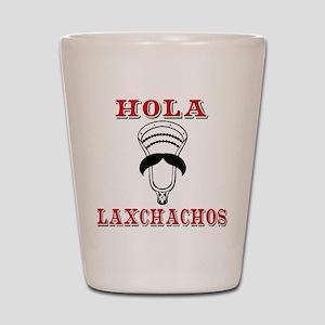 Lacrosse HOLA Laxchachos Shot Glass