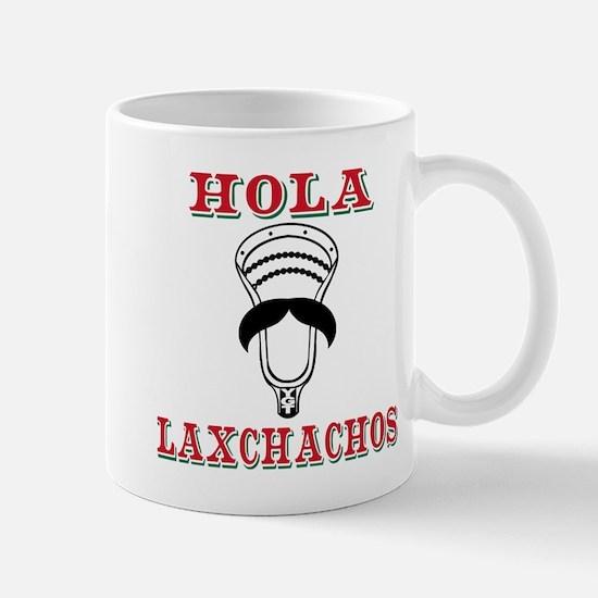 Lacrosse HOLA Laxchachos Mugs