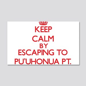 Keep calm by escaping to PuUhonua Pt. Hawaii Wall