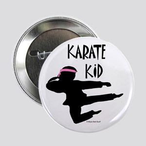 Karate Kid (Girl) Button