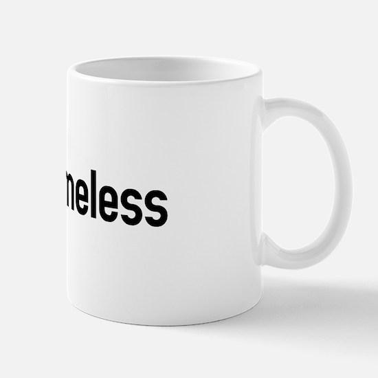 arm the homeless Mug