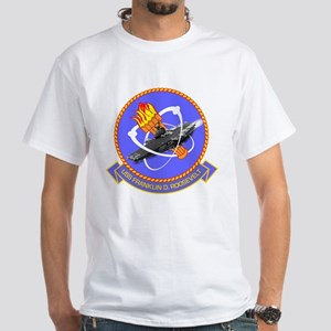 Personalized USS Roosevelt CV-42 White T-Shirt