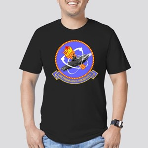 Personalized USS Roose Men's Fitted T-Shirt (dark)