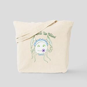 Baby Cthulu Tote Bag