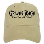 Thyroidhug Graves Rage Baseball Cap