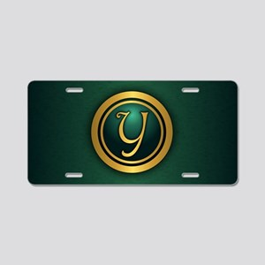 Irish Luck (Y) Aluminum License Plate