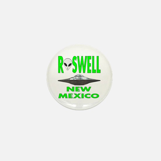 Roswell New Mexico.png Mini Button
