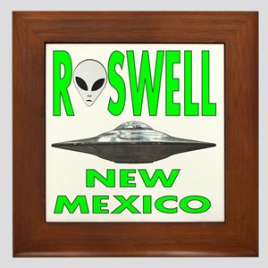 Roswell New Mexico Framed Tile