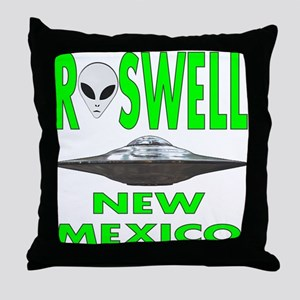 Roswell new mexico Throw Pillow