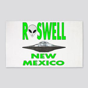 Roswell New Mexico 3'x5' Area Rug