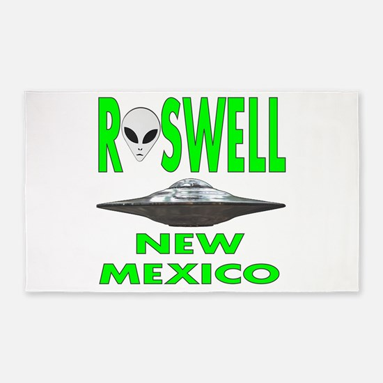 Roswell New Mexico.png 3'x5' Area Rug
