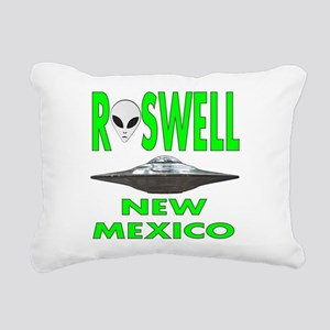 Roswell new mexico Rectangular Canvas Pillow