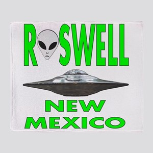 Roswell New Mexico Throw Blanket