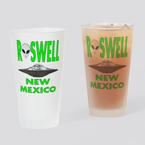 Roswell New Mexico Drinking Glass