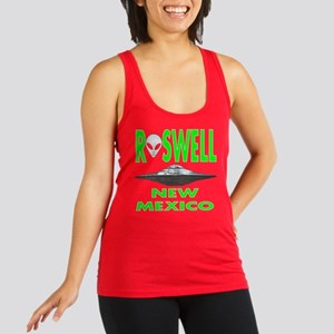 Roswell New Mexico Racerback Tank Top