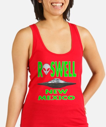 Roswell New Mexico.png Racerback Tank Top