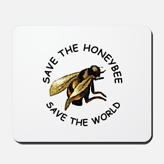 Save The Bee Mousepad