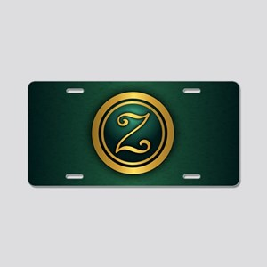 Irish Luck (Z) Aluminum License Plate