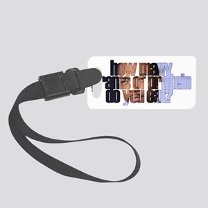 Protein Small Luggage Tag
