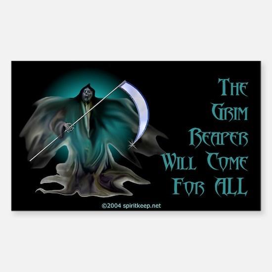 Grim Reaper Rectangle Decal