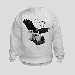 Flying Free Kids Sweatshirt