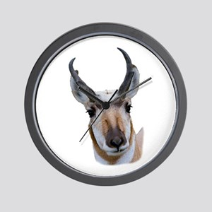 Pronghorn Wall Clock