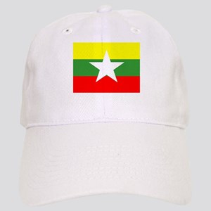 Myanmar Flag Baseball Cap