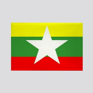 Myanmar Flag Magnets