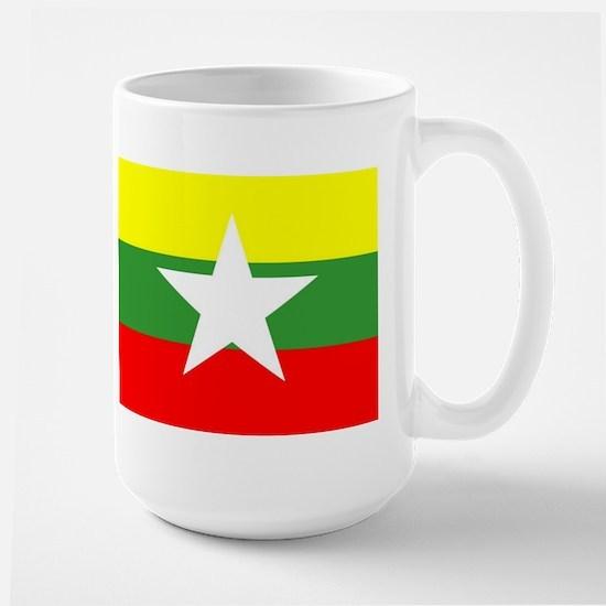 Myanmar Flag Mugs