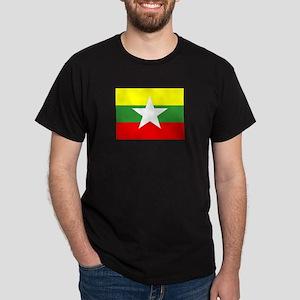 Myanmar Flag T-Shirt