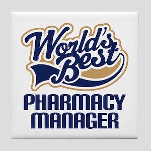 Pharmacy manager Tile Coaster