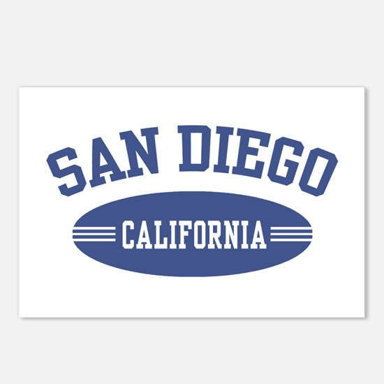 San Diego Postcards (Package of 8)